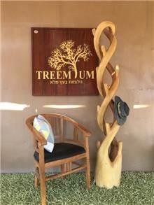 מתלה מעילים טיק - Treemium - חלומות בעץ מלא
