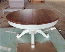 שולחן אוכל עגול עץ מלא - Treemium - חלומות בעץ מלא
