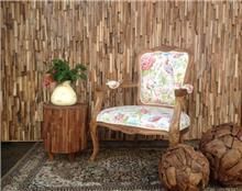 כורסא מדליקה שלד עץ מלא אלון  - Treemium - חלומות בעץ מלא
