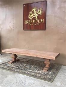 שולחן סלון ייחודי  - Treemium - חלומות בעץ מלא