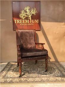 כיסא מנהלים מפואר דגם 1939 - Treemium - חלומות בעץ מלא