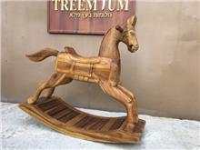 סוס נדנדה דקורטיבי - Treemium - חלומות בעץ מלא