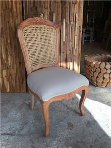 כיסא כפרי ייחודי מעץ מלא  - Treemium - חלומות בעץ מלא