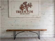 ספסל ייחודי מעוצב - Treemium - חלומות בעץ מלא