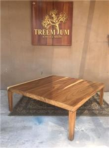 שולחן סלוני מלבני - Treemium - חלומות בעץ מלא