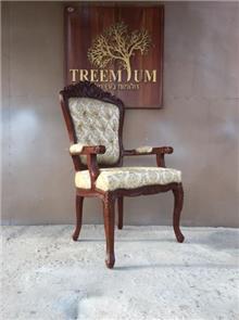 כיסא מהודר מעץ מלא - Treemium - חלומות בעץ מלא