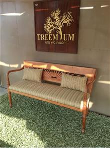 ספסל מדהים מעץ מלא - Treemium - חלומות בעץ מלא