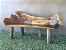 ספסל שורש טיק - Treemium - חלומות בעץ מלא