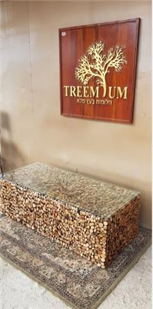 שולחן סלון מלבני עצי סחף - Treemium - חלומות בעץ מלא