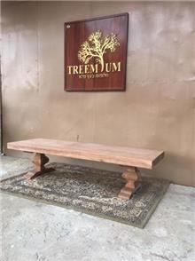 שולחן סלון מעץ - Treemium - חלומות בעץ מלא