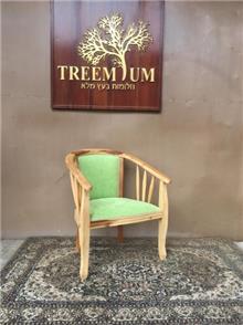 כיסא עץ טיק - Treemium - חלומות בעץ מלא