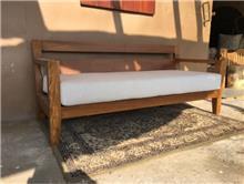 ספה עץ מלא טיק - Treemium - חלומות בעץ מלא