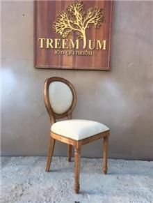 כיסא אוכל גב עגול - Treemium - חלומות בעץ מלא