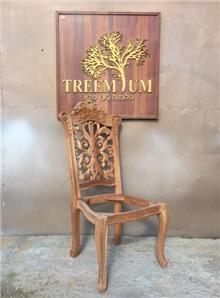 כיסא מהגוני מהודר - Treemium - חלומות בעץ מלא