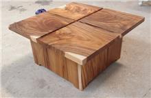 שולחן סלון פלחי גזע - Treemium - חלומות בעץ מלא