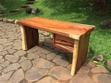 שולחן עבודה פרוסות גזע - Treemium - חלומות בעץ מלא