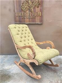 כיסא נדנדה מפואר - Treemium - חלומות בעץ מלא
