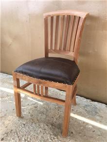כיסא דגם ivy עץ מלא טיק - Treemium - חלומות בעץ מלא